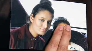 Isis bride Shamima Begum said Western air strikes against Syria were a 'fair justification' for the Manchester Arena suicide bombing. Picture: Reuters