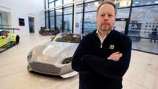 Aston Martin CEO Andy Palmer. Picture: Reuters.