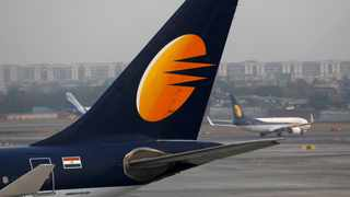 Jet Airways Ltd's shares rose about 6 percent on Wednesday to a near 10-week high, after a top aviation ministry official ruled out grounding more planes. Photo: File