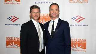 "Neil Patrick Harris and David Burtka want to show their children they are ""working"" on their marriage. Picture: AP"