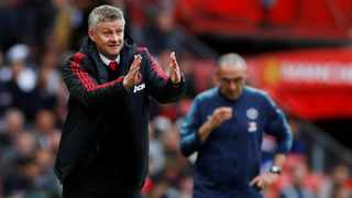 Manchester United manager Ole Gunnar Solskjaer has urged his players to show they want a long-term future at Old Trafford in their final two games this season. Photo: Phil Noble/Reuters