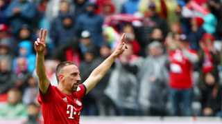 Bayern Munich have announced that Franck Ribery will depart the club at the end of the season. Photo: Michael Dalder/Reuters