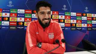 """""""To play at Anfield is like playing with an extra man for what the fans transmit to the Liverpool players,"""" says Luis Suarez. Photo: Lee Smith/Action Images via Reuters"""