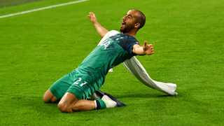 """""""I knew I could play for a big club, that I was capable of playing in the semi-finals of the Champions League,"""" said Lucas Moura. Photo: Dylan Martinez/Reuters"""