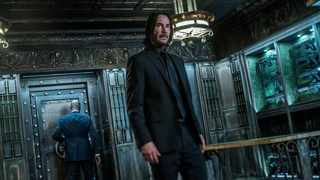 """Keanu Reeves in a scene from """"John Wick: Chapter 3 - Parabellum.""""  Picture: AP"""