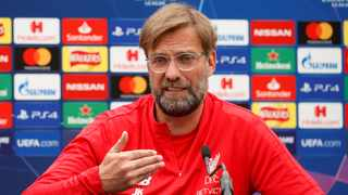 Jurgen Klopp expects a close contest against a Tottenham side that Liverpool beat home and away in the Premier League during the season, winning 2-1 on both occasions. Photo: Action Images via Reuters