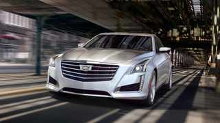 This undated photo provided by GM shows the 2019 Cadillac CTS, a luxury sedan that has been discontinued but is still available on dealer lots.The head of General Motors Co's Cadillac luxury brand said a majority, and possibly all, of the brand's models would be electric vehicles by 2030.   (General Motors Co. via AP)