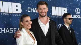 """Chris Hemsworth gets """"really embarrassed"""" when his wife proves him wrong. Picture: AP"""