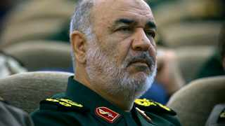 Iran's Revolutionary Guard commander Gen. Hossein Salami attends a meeting in Tehran. Iran's Revolutionary Guard shot down a US drone amid heightened tensions between Tehran and Washington over its collapsing nuclear deal with world powers, American and Iranian officials said, while disputing the circumstances of the incident. File picture: Sepahnews via AP