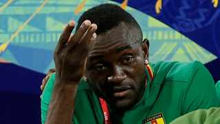 Joel Tagueu has been withdrawn from the Cameroon squad. Photo: Reuters