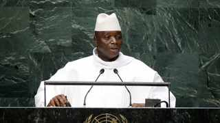 Former president of the Gambia Yahya Jammeh. Picture: Frank Franklin II