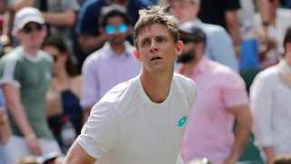 Kevin Anderson has not competed since he lost in the third round at Wimbledon last month. Photo: Ben Curtis/AP