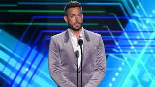 Zachary Levi presents the best moment award at the ESPY Awards on Wednesday, July 10, 2019, at the Microsoft Theater in Los Angeles. Picture: Chris Pizzello/Invision/AP