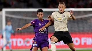 Manchester United's Nemanja Matic says the club must invest in experienced players if the want to be successful. Photo: Richard Wainwright/AAP Image via AP