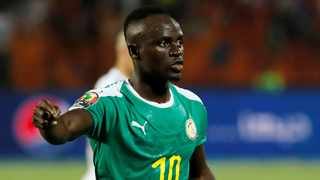 Senegal's Sadio Mane' provided and assist in the second goal his team score. Photo: Mohamed Abd El Ghany/Reuters