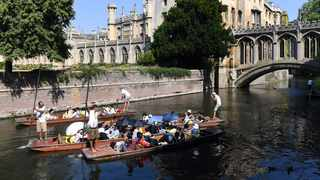 Uber is taking a punt on river trips in Cambridge in the UK running trials this week on 40-minute tours which can be booked using its app. Picture: AP