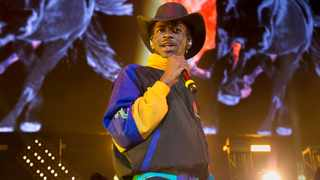 """Lil Nas X performing at HOT 97 Summer Jam 2019 in East Rutherford, N.J. The rapper has taken his """"Old Town Road"""" to the top of the Billboard charts for 16 weeks, tying a record set by Mariah Carey and Luis Fonsi. Picture: AP"""