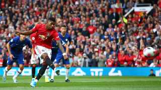 Manchester United's Marcus Rashford is being backed up by his team to take the penalties. Photo: Dave Thompson/AP Photo