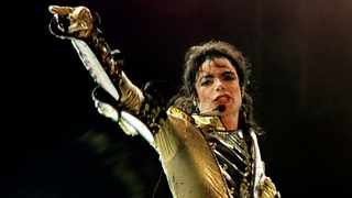 File photo of U.S. pop star Michael Jackson performing during his concert in Vienna. Picture: Reuters