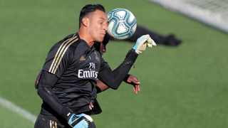 """""""I'm not looking at who could come in because Keylor is here and he will be important for us,"""" said Zinedine Zidane. Photo: Juan Medina/Reuters"""