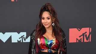 Nicole Polizzi, also known as Snooki, arrives at the MTV Video Music Awards at the Prudential Center on Monday, Aug. 26, 2019, in Newark, N.J. Picture: Supplied