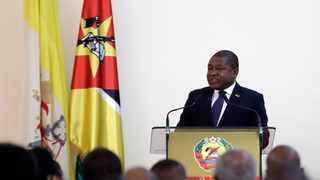 The stampede occured at a campaign rally for President Filipe Nyusi (pictured). File picture: Alessandra Tarantino/AP Photo/