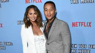 """John Legend flew on his """"least favourite airline"""" to have dinner with Chrissy Teigen. Picture: AP"""