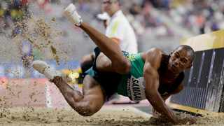 Ruswahl Samaai was one of the many athletes that didn't perform at the World Athletics Champs. Photo: Hassan Ammar/AP Photo