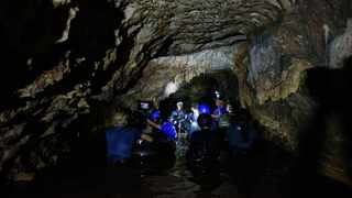 The Tham Luang Cave which used to trap a junior football team in Thailand's northern province of Chiang Rai, will officially be opened for tourists from November 1. Picture: AP