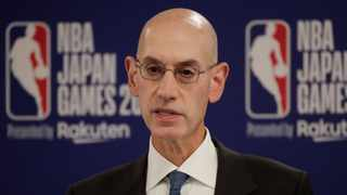 NBA Commissioner Adam Silver speaks at a news conference before an NBA preseason basketball game between the Houston Rockets and the Toronto Raptors. Photo: Jae C. Hong/AP Photo