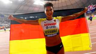 Long jump world champion Malaika Mihambo of Germany plans to move to the United States in summer to be trained by former great Carl Lewis. Photo: Retuers/Kai Pfaffenbach