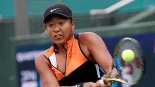 Naomi Osaka, the Australian Open champion, arrived in Shenzen having won the last two tournaments she played — in Osaka, Japan, and Beijing. Photo: Kim Kyung-Hoon/Reuters