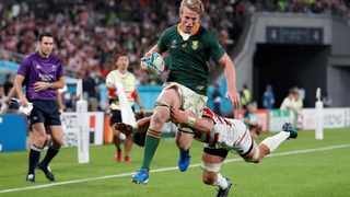 Pieter-Steph du Toit capped off phenomenal 2019 season when he added the prestigious SA Rugby Player of the Year award to his World Rugby Player of the Year accolade. Photo: Matthew Childs/Reuters