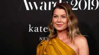 Actor Ellen Pompeo poses at the Fifth Annual InStyle Awards at Getty Center in Los Angeles. Picture: Reuters