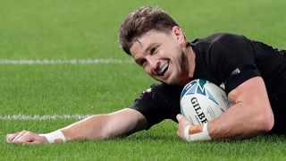 Auckland Blues have said they will be without new signing Beauden Barrett for the first few months of the new Super Rugby season after the All Blacks flyhalf exercised a clause in his contract allowing him an extended break from the game. Photo: Mark Baker/AP Photo