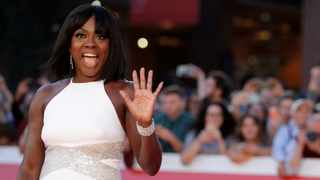 Actress Viola Davis poses during a red carpet as she arrives at the Rome Film Fest, in Rome, Saturday, Oct. 26, 2019. Picture: AP Photo/Andrew Medichini