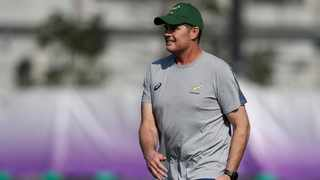 Rassie Erasmus will be hoping he can get over the line one last time with the Springboks. Photo: Edgar Su/Reuters