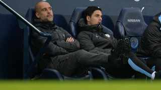 Manchester City manager Pep Guardiola said on Friday he had received no approach from other clubs for assistant Mikel Arteta (pictured). Photo: Peter Powell/Reuters