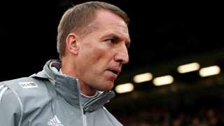 Brendan Rodgers has guided Leicester to second place behind Liverpool in the Premier League. Photo: John Sibley/Reuters