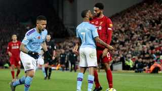 England's Raheem Sterling has conceded that emotions got the better of him in a bust-up with team mate Joe Gomez at the national training camp but said he was ready to move on after being dropped by the Football Association. Photo: Carl Recine/Reuters