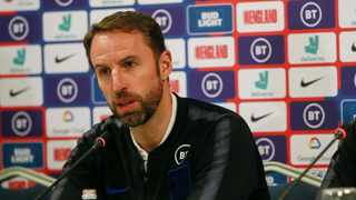 England's head coach Gareth Southgate speaks during a press conference before the Euro 2020 group A qualifying soccer match between Kosovo and England. Photo: AP Photo/Visar Kryeziu