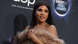 Toni Braxton poses in the press room at the American Music Awards on Sunday, Nov. 24, 2019, at the Microsoft Theater in Los Angeles. Picture: Jordan Strauss/Invision/AP