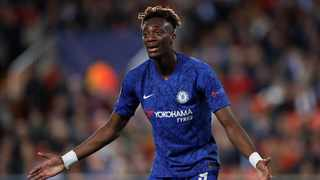 Chelsea striker Tammy Abraham has played down concerns over a serious-looking hip injury that he sustained during the team's 2-2 Champions League draw at Valencia on Wednesday. Photo: Andrew Boyers/Reuters