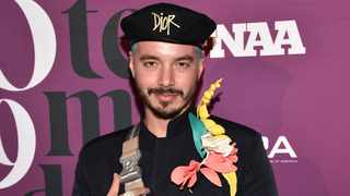 Colombian singer J Balvin attends the 2019 Footwear News Achievement Awards at the IAC Building on Tuesday, Dec. 3, 2019, in New York. Picture: Evan Agostini/Invision/AP