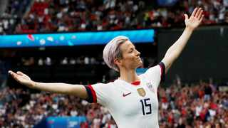 Megan Rapinoe took home the Golden Boot and Golden Ball from the FIFA World Cup. Photo: Nenoir Tessier/Reuters