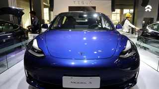 Tesla plans to increase prices of imported Model 3 vehicles with longer range and those with performance function, which are currently priced at 439,900 yuan ($62495.56) and 509900 yuan, respectively.  Photo; File