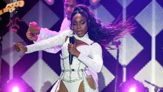 Normani performs during the 2019 KIIS-FM Jingle Ball concert at The Forum, Friday, Dec. 6, 2019, in Inglewood, Calif. (AP Photo/Chris Pizzello)