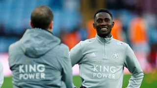 Leicester City's defensive midfielder Wilfred Ndidi will be sidelined until February after sustaining a knee injury which requires surgery. Photo: Reuters