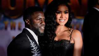 Kevin Hart is set to become a father again. Picture: AP