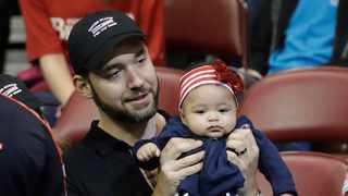 "Alexis Ohanian stepped down from the board of Reddit to ""make a better world"" for his daughter. Picture: AP"